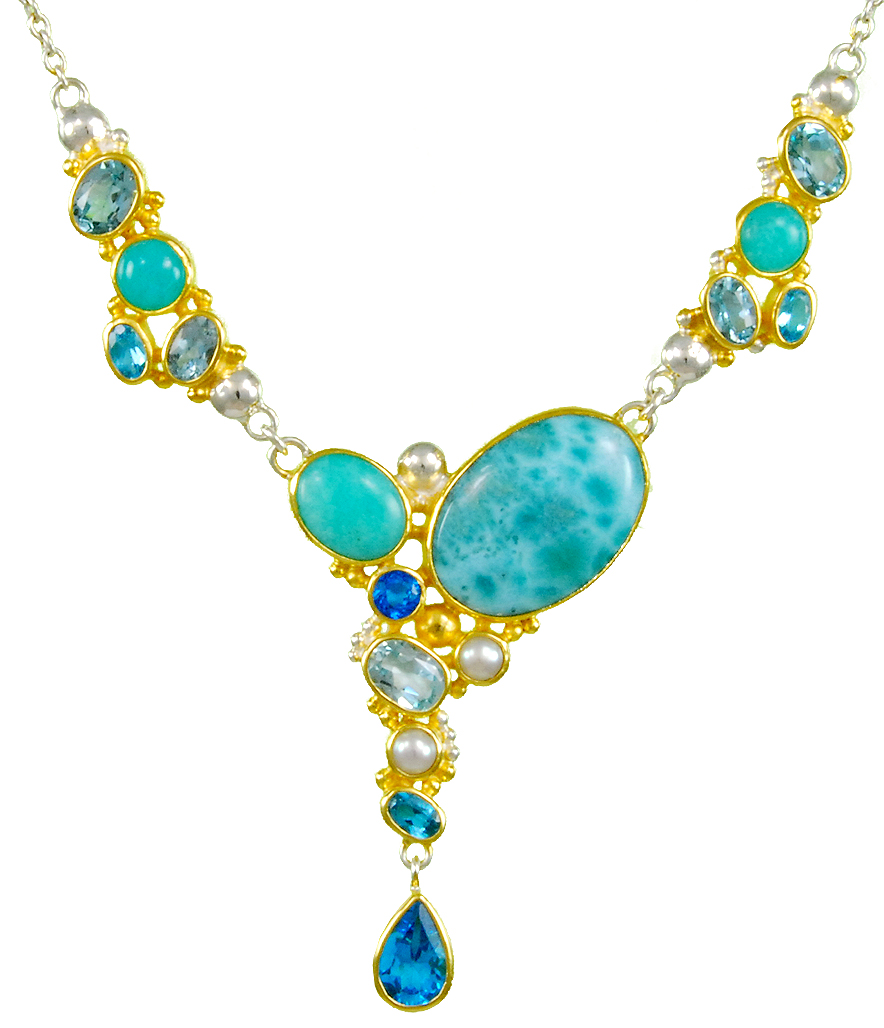Michou - Laramor_Necklace.jpg - brand name designer jewelry in Vero Beach, Florida